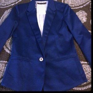 Zara Woman blue blazer